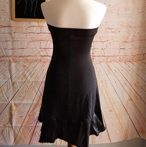 Baby Phat Dresses - Baby Phat Strapless Black Mini Dress Size M
